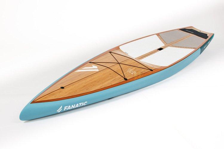 Flat deck shape