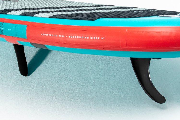 center & rear fin