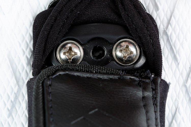 Deux positions de straps
