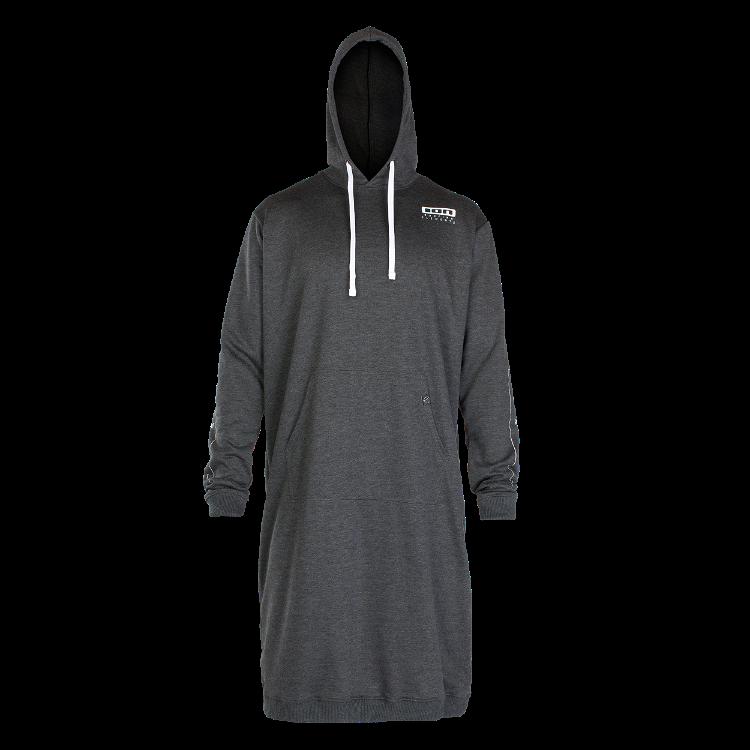 Sweater Poncho Longsleeve / dark grey