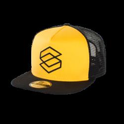 CAP SCRUB 2019 / smiley yellow