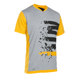 Tee SS Letters Scrub Amp / smiley yellow