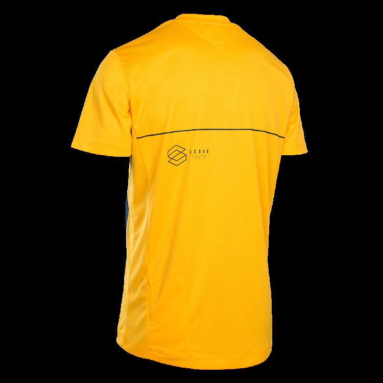 Tee SS Scrub Amp / smiley yellow