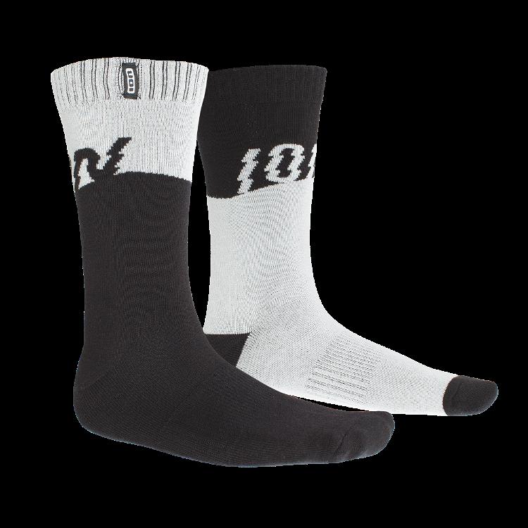 Socks Scrub 2021 / black