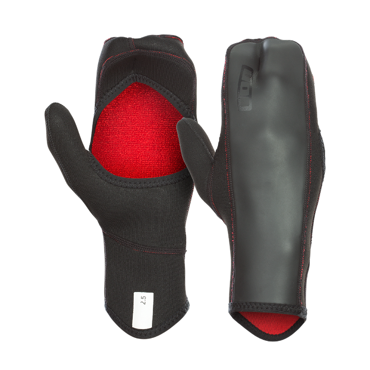 Open Palm Mittens 2.5 / black
