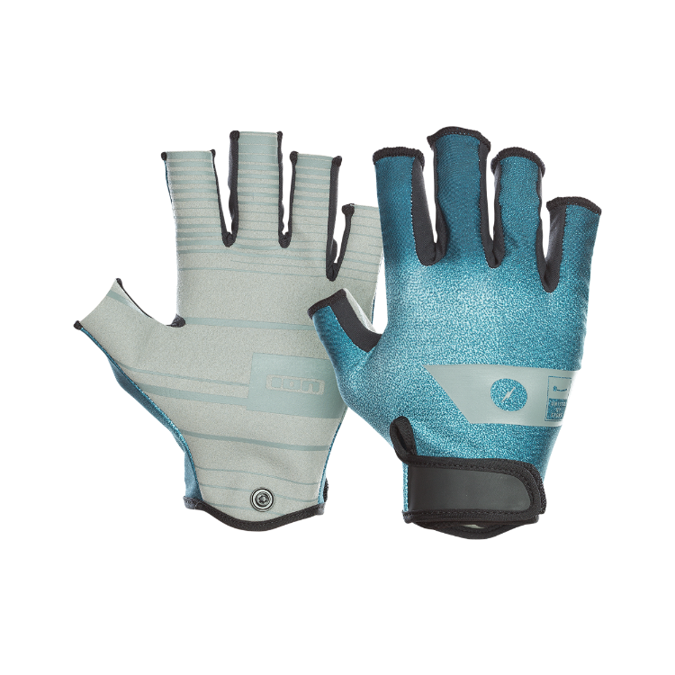 Amara Gloves Half Finger / teal