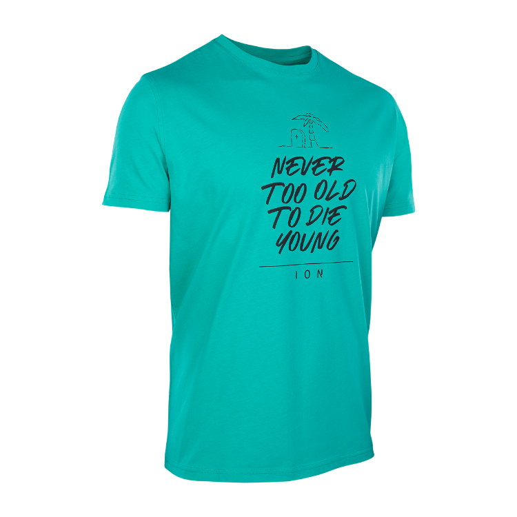 TEE SS NEVER TOO OLD / 661 pistacchio