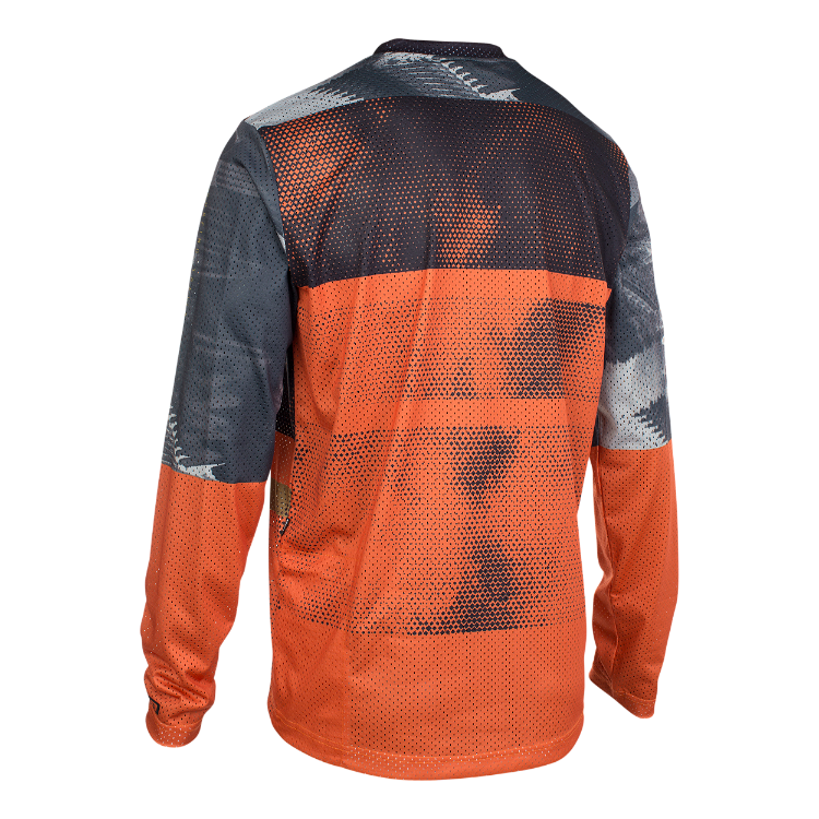 Tee LS Scrub / 404 riot orange