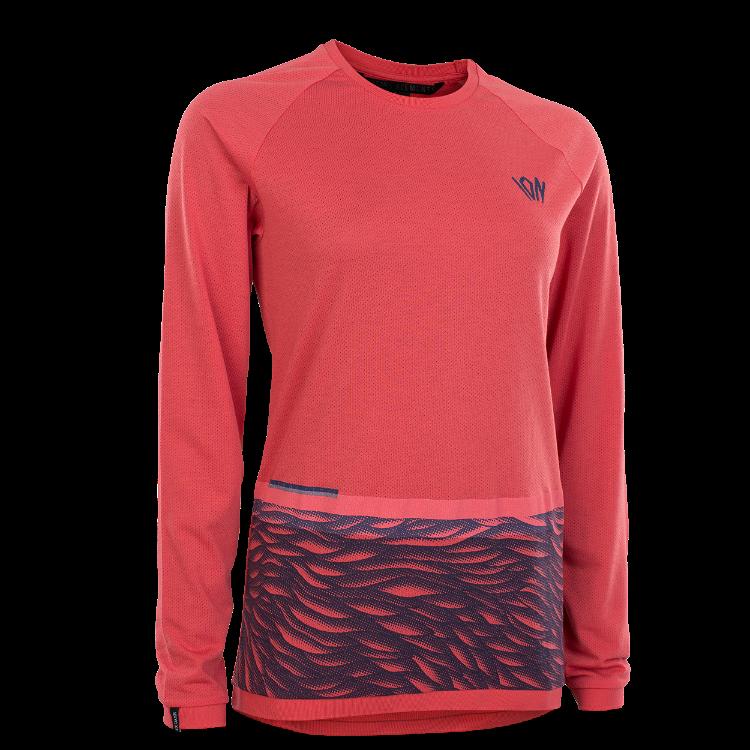 Tee LS Seek WMS / 424 pink isback