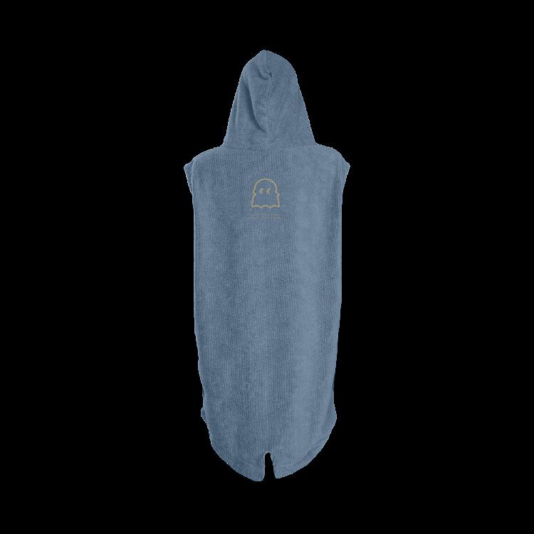 Poncho Grom / steel blue