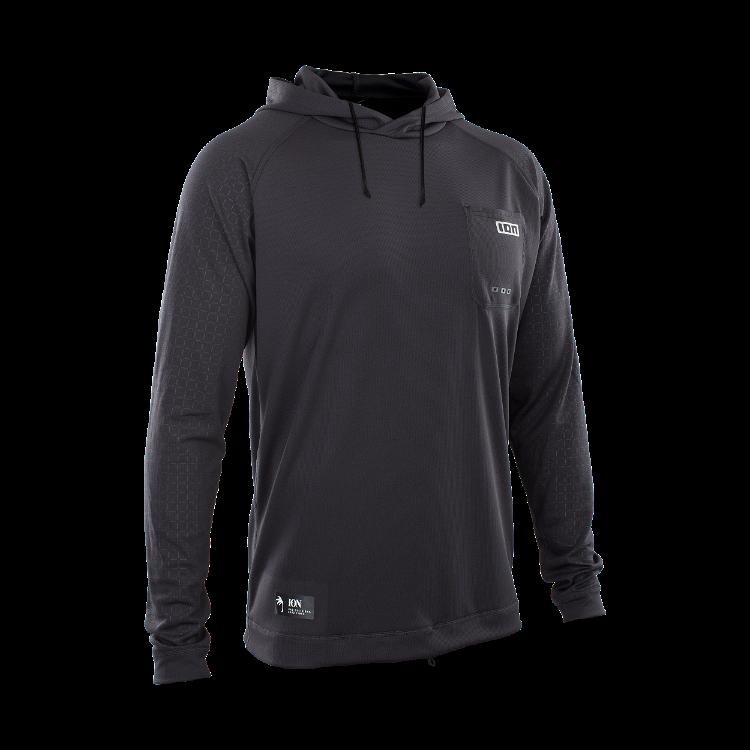 Wetshirt Hood LS / black