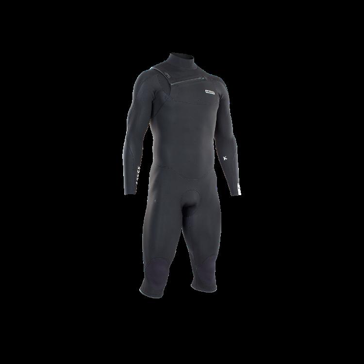 Frontzip Overknee 4/3 / black