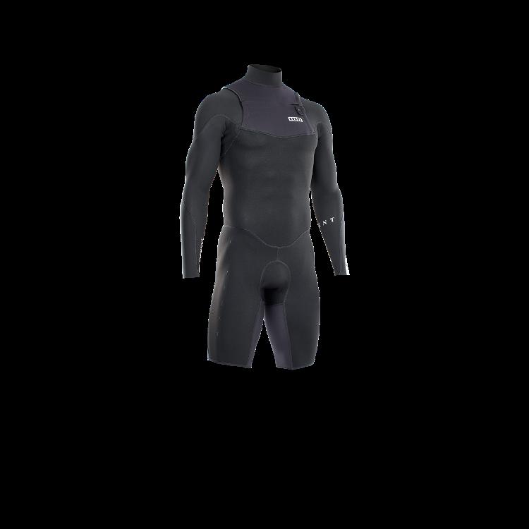 Frontzip Shorty LS 2/2 / black