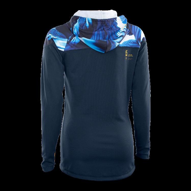 Wetshirt Hood Women LS / blue capsule