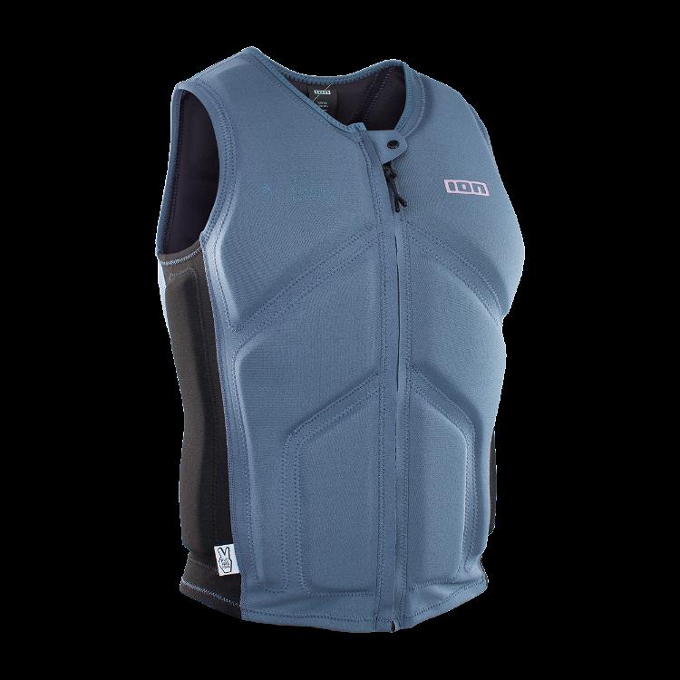 Collision Vest Core / steel blue/black