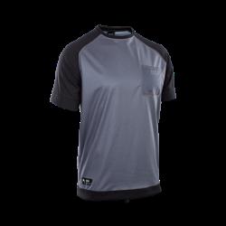 Wetshirt SS / steel blue/black