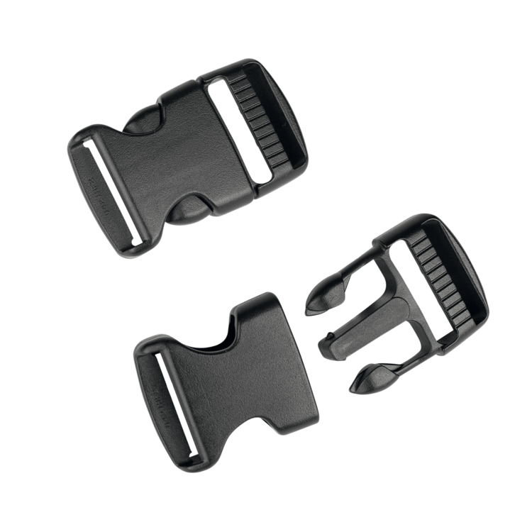 Buckle 25mm f. legstraps (2pair) (SS16 onwards)