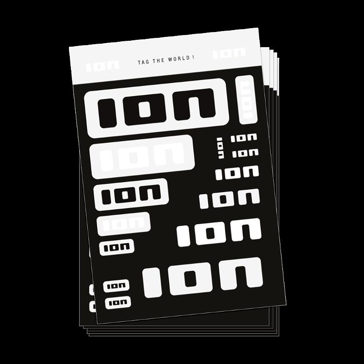 Stickersheet (10pcs) / Unicolor