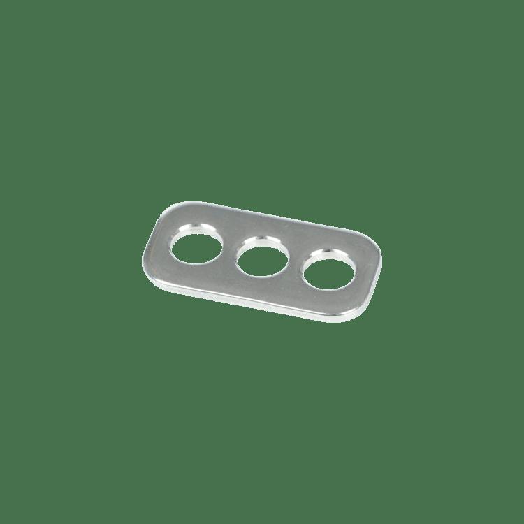 Rope Plate 3 Hole f. Rope+Webbing Slider  C-Bar2.0/3.0