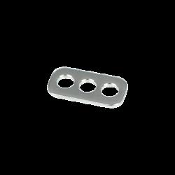 Rope Plate 3 Hole f. Rope+Webbing Slider  C-Bar2.0/3.0 / Unicolor