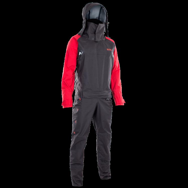 Fuse Lightweight Drysuit FZ / dark olive/red/black