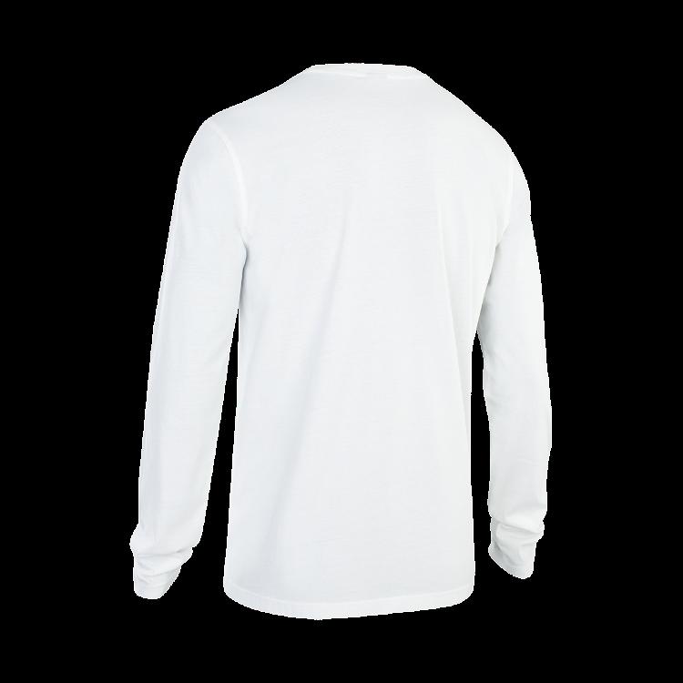 TEE LS LOGO / 100 peak white