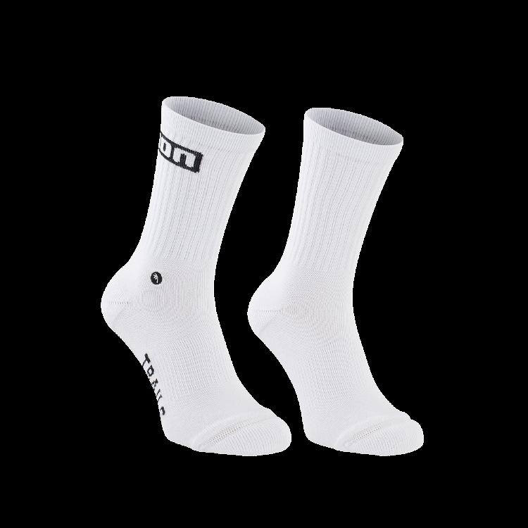 Socks Logo / 100 peak white