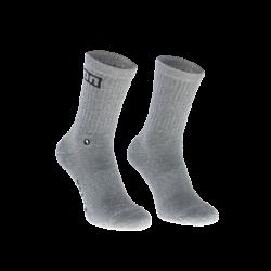 Socks Logo / 156 grey melange